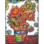 Malowanki Colorvelvet - van Gogh Słoneczniki