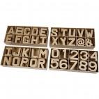 Papier-mache litery i cyfry małe