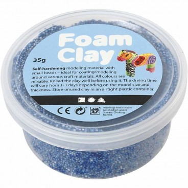Masa piankowa Foam Clay 35g niebieski