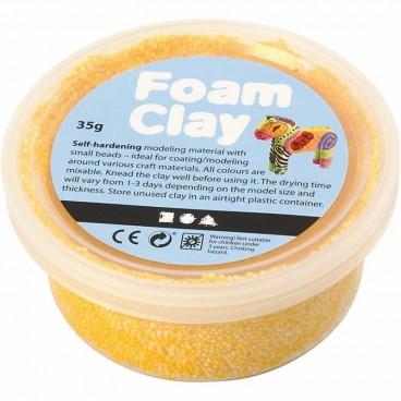Masa piankowa Foam Clay 35g żółty