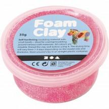 Masa piankowa Foam Clay 35g różowy