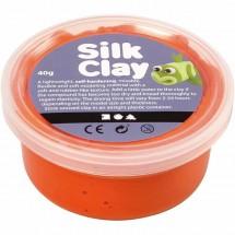 Masa plastyczna Silk Clay 40g pomarańczowy