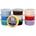 Masa plastyczna Silk Clay basic1 10x40g
