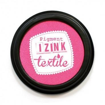 Poduszka z tuszem do tkanin - różowy