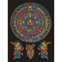 Malowanki Colorvelvet - aztekowie
