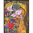 Malowanki Colorvelvet - Klimt pocałunek