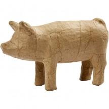 Papier-mache świnia