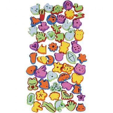 Stemple piankowe różne 3-5 cm