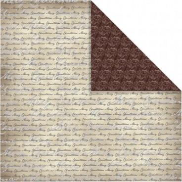Papier ozdobny Oslo napisy