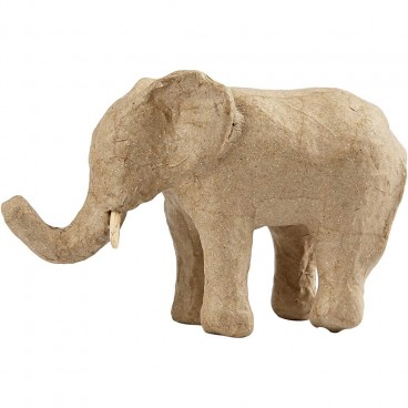 Papier-mache słoń afrykański