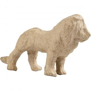 Papier-mache lew