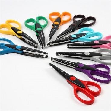 Nożyczki ze wzorem
