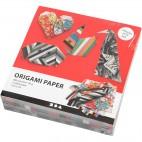 Papier graffiti do origami