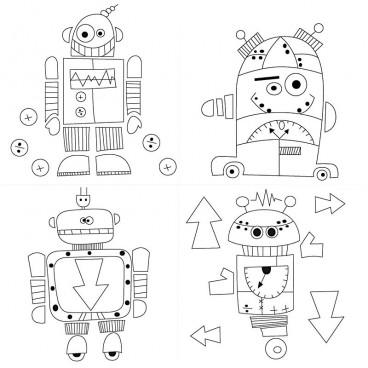 Podobrazie roboty
