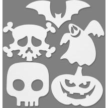 Halloween motywy z papieru do malowania