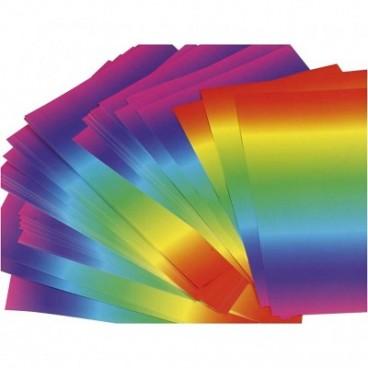 Papier kolorowy tęcza