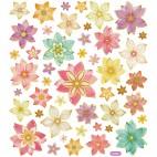Naklejki kwiaty