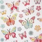 Naklejki świecące motylki