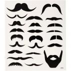 Naklejki motyw wąsy