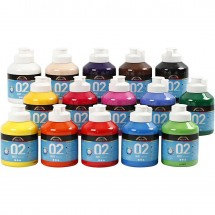 Farba akrylowa 02 matowa 500ml