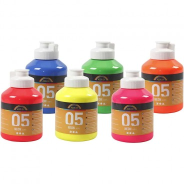 Farba akrylowa 05 neonowa 500ml