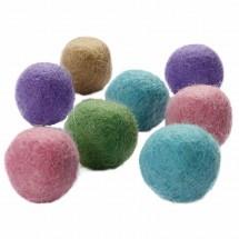 Filcowe korale pastelowe kolory