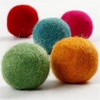 Filcowe korale kolory żywe