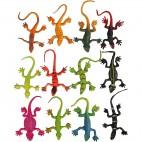 Jaszczurki kolorowe