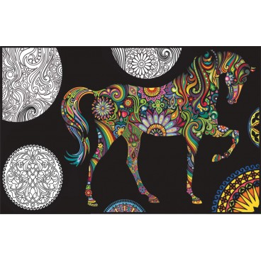 Segregator Colorvelvet koń