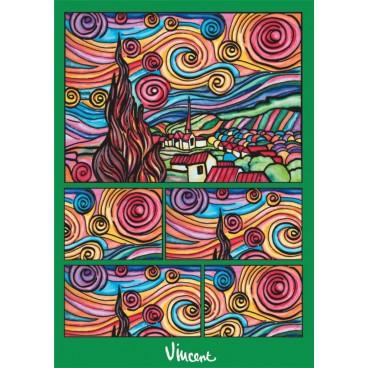Pudełko Colorvelvet - van Gogh