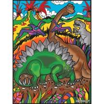 Malowanka Colorvelvet - Dino