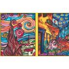 Teczka Colorvelvet - van Gogh