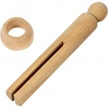 Drewniana szczypka do prania