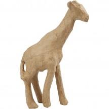 Paier mache żyrafa duża 29 cm