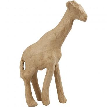 Papier-mache żyrafa duża 29 cm